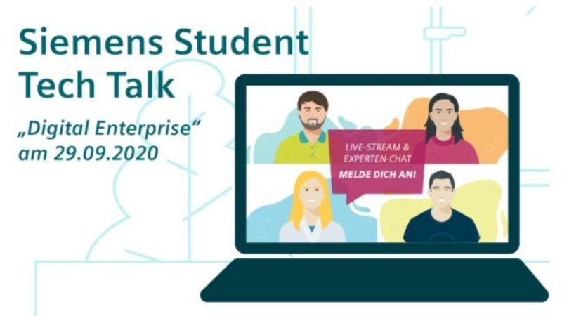 "1st Student Tech Talk on ""Digital Enterprise"""