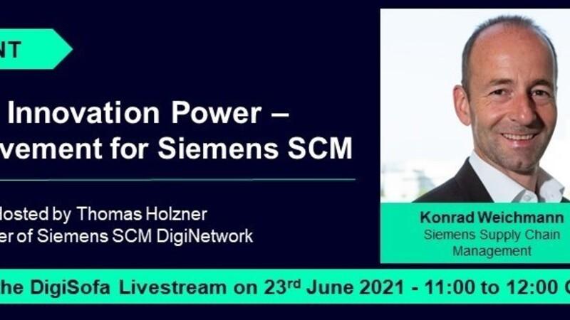 SCM DigiSofa Livestream: The Supplier Innovation Power